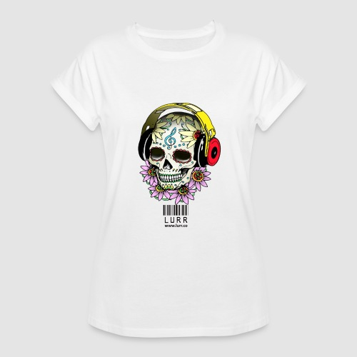 smiling_skull - Women's Oversize T-Shirt
