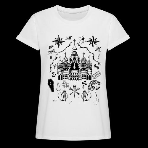 RVSSIAN II - Maglietta ampia da donna