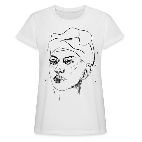 ANGEL - Frauen Oversize T-Shirt