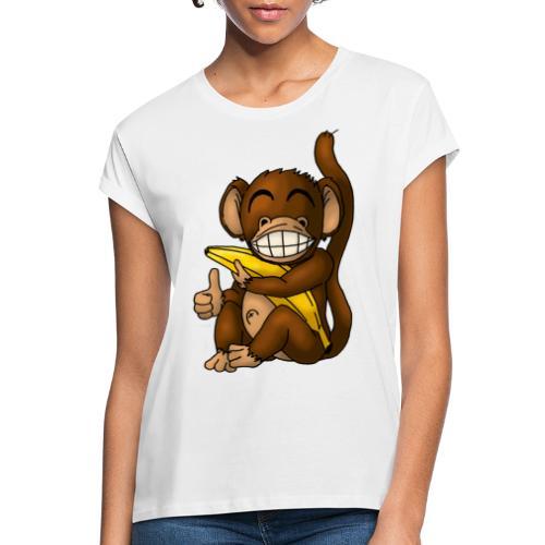 Super Fröhlicher Affe - Frauen Oversize T-Shirt