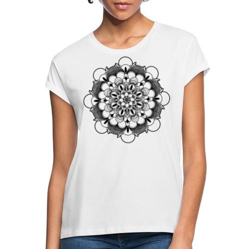 Zen Mandala - Vrouwen oversize T-shirt