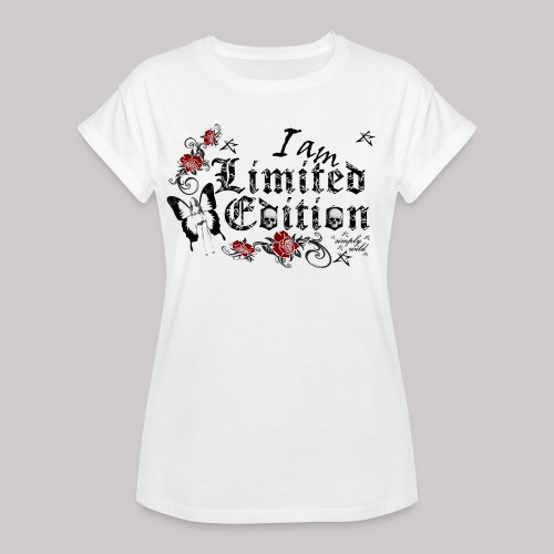 simply wild limited Edition on white - Frauen Oversize T-Shirt