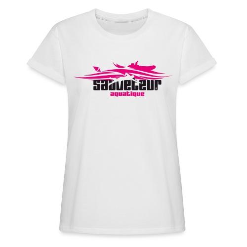 sauveteur aquatique - T-shirt oversize Femme
