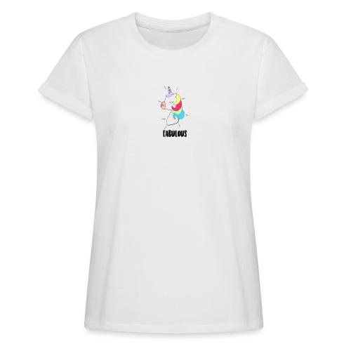Fabulous Unicorn - T-shirt oversize Femme