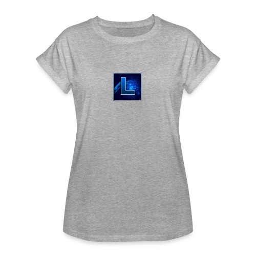 Logo GamenMetLucas - Vrouwen oversize T-shirt