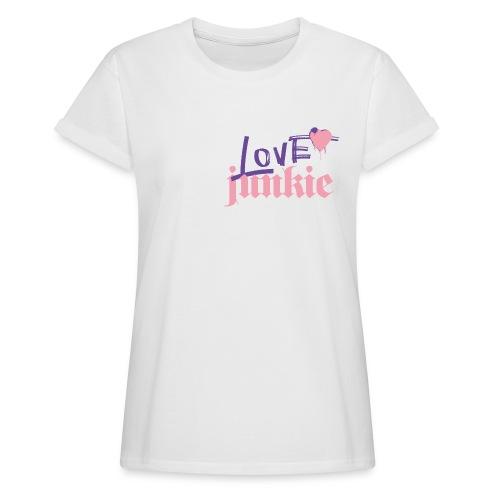 LOVE junkie - Frauen Oversize T-Shirt