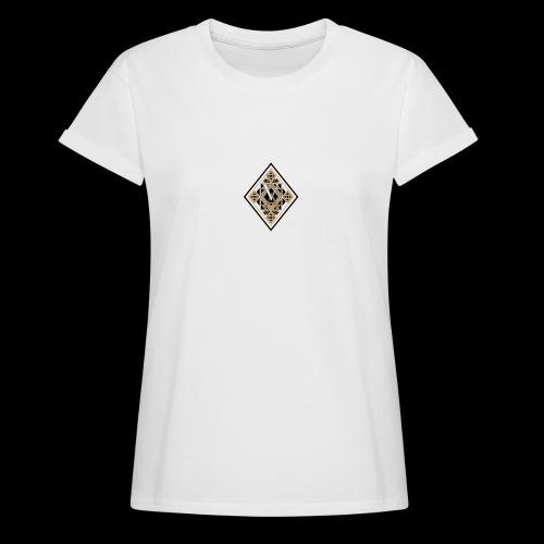 Losange sombre et brillant - T-shirt oversize Femme