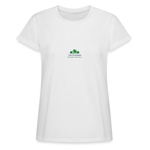 TOS logo shirt - Women's Oversize T-Shirt