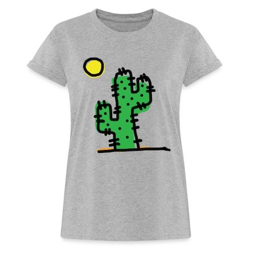 Cactus single - Maglietta ampia da donna