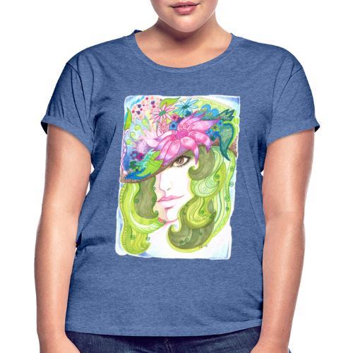 Brunögd - Oversize-T-shirt dam