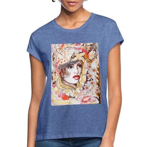 Tant Brun - Oversize-T-shirt dam
