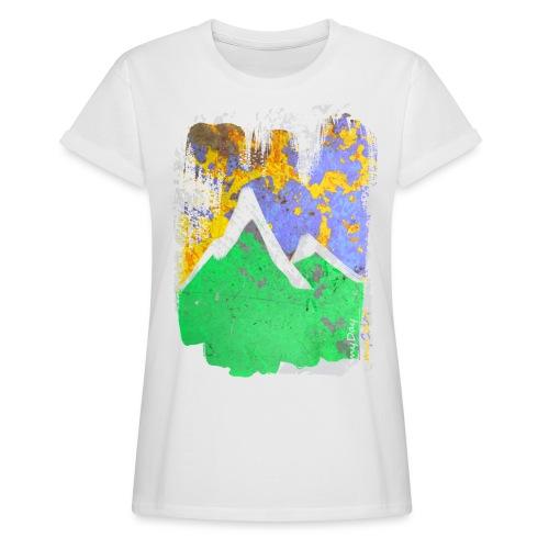 BergAbend - Frauen Oversize T-Shirt