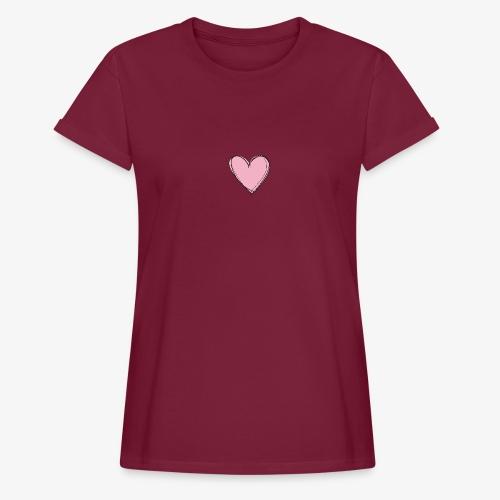 Pink Love Tee - Vrouwen oversize T-shirt