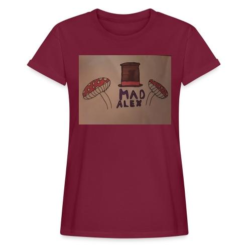 Mad Alex Logo - Women's Oversize T-Shirt