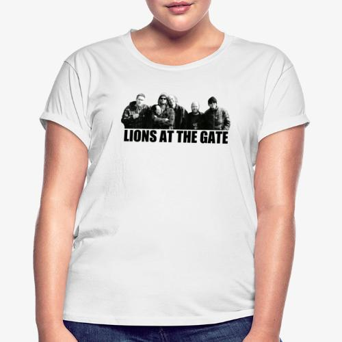 LIONS AT THE GATE SHIRT (WHITE) - Vrouwen oversize T-shirt