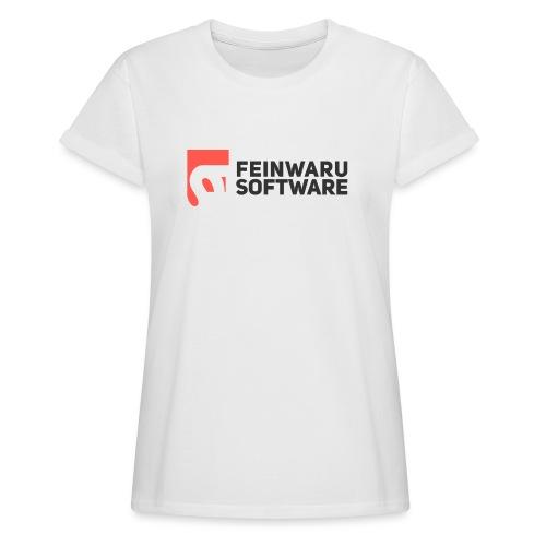 Feinwaru Full Logo - Women's Oversize T-Shirt