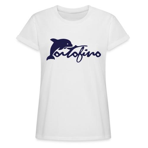 portofino 2019 NAVY - Women's Oversize T-Shirt