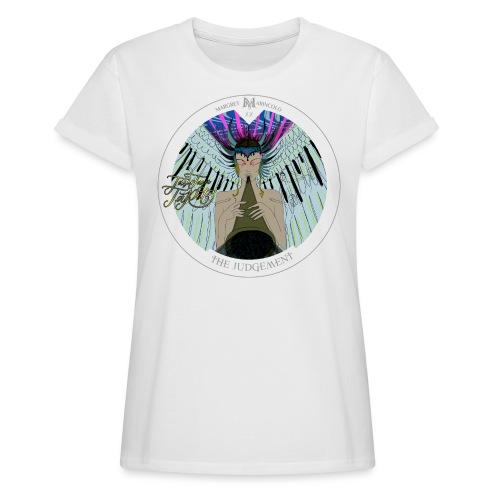 The Judgement | Das Gericht Tarot Karte rund - Frauen Oversize T-Shirt