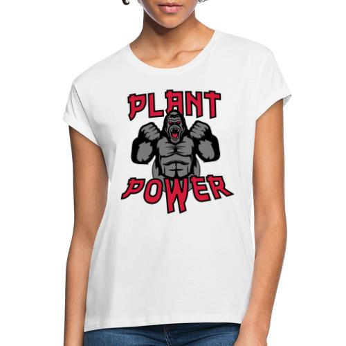 Plant Power - Frauen Oversize T-Shirt