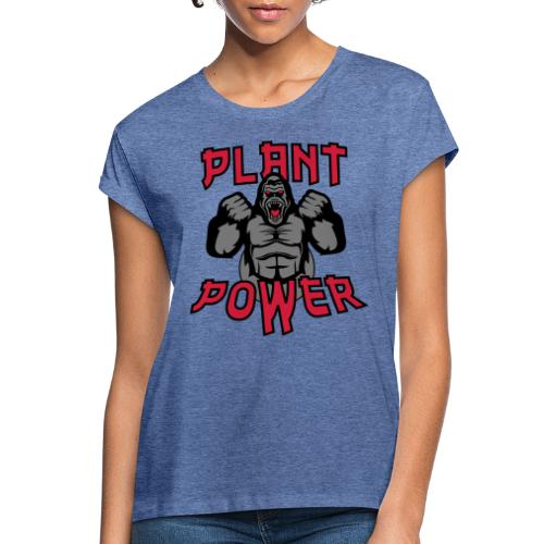 Plant Power - Frauen Oversize T-Shirt