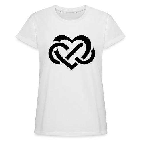 Vriendschap - Vrouwen oversize T-shirt