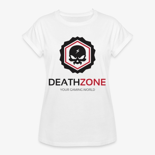 DeathZone Logo Avatar - Koszulka damska oversize