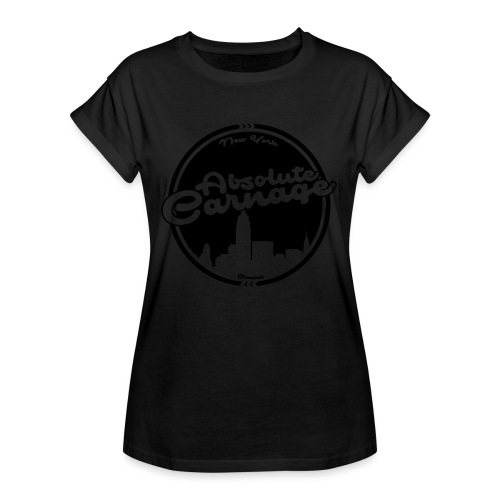 Absolute Carnage - Black - Women's Oversize T-Shirt