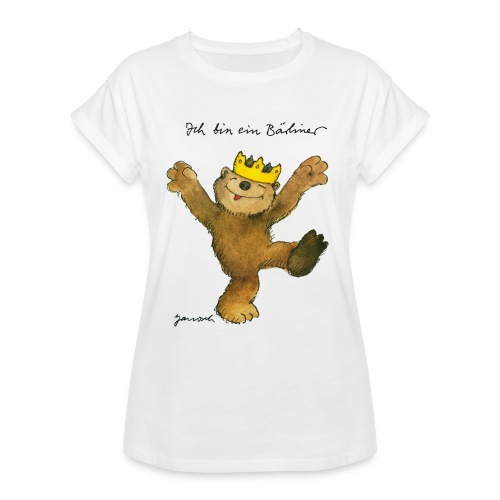 Janosch Kleiner Bär Ich Bin Ein Bärliner - Frauen Oversize T-Shirt