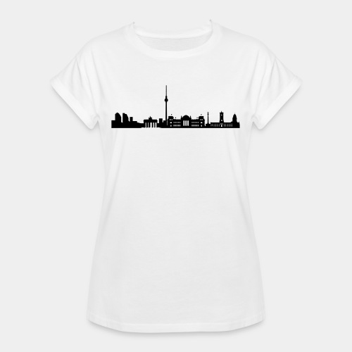 Berlin Skyline - Frauen Oversize T-Shirt