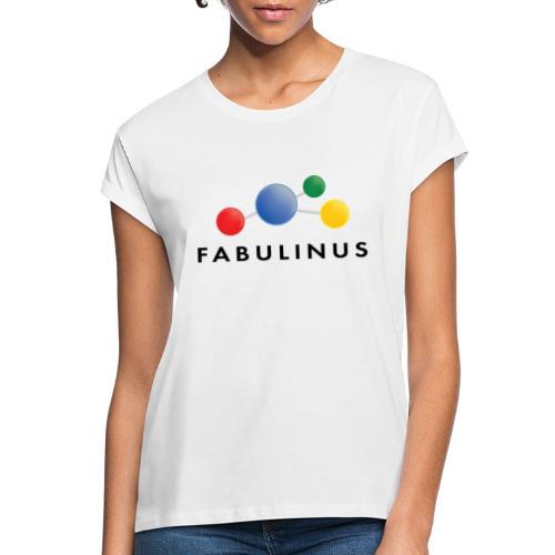 Fabulinus logo dubbelzijdig - Vrouwen oversize T-shirt
