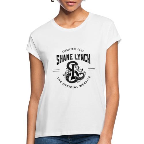 Black - Shane Lynch Logo - Women's Oversize T-Shirt