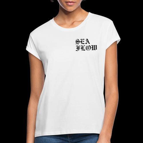 SeaFlow logo AFTERLIFE - Maglietta ampia da donna