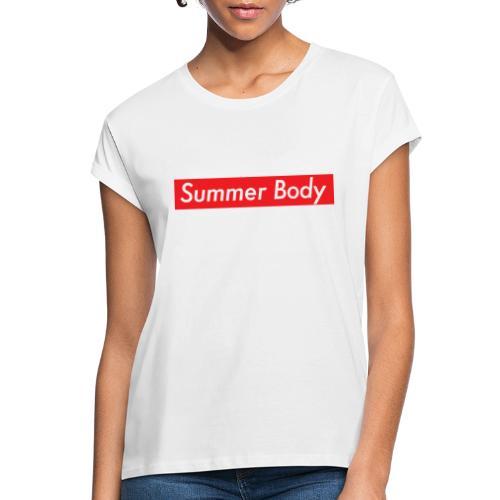 Summer Body - T-shirt oversize Femme