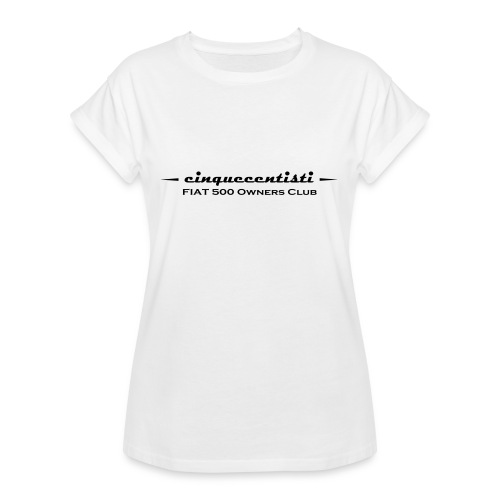 Cinquecentisti 500 Owners Club Vector - Maglietta ampia da donna