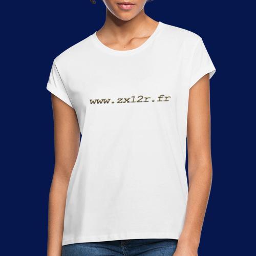 www zx12r fr OR - T-shirt oversize Femme