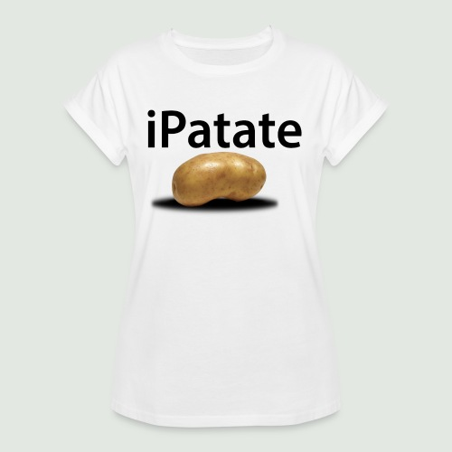 iPatate - T-shirt oversize Femme