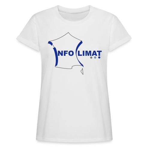 logo simplifié - T-shirt oversize Femme