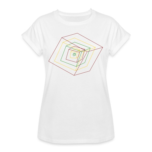 Rasta Cubes - T-shirt oversize Femme