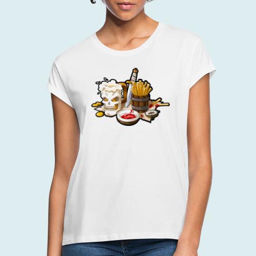 Arr menù - Maglietta ampia da donna