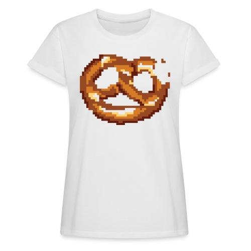Breze mit Biss - Frauen Oversize T-Shirt