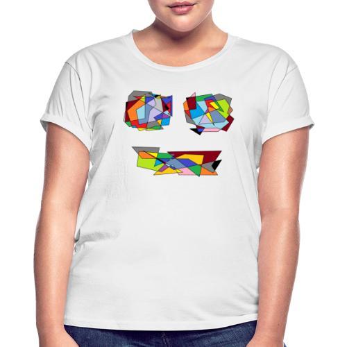 TheFace - Frauen Oversize T-Shirt