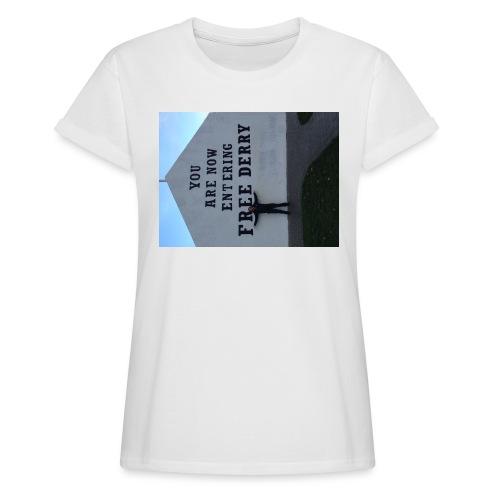 free derry - Women's Oversize T-Shirt