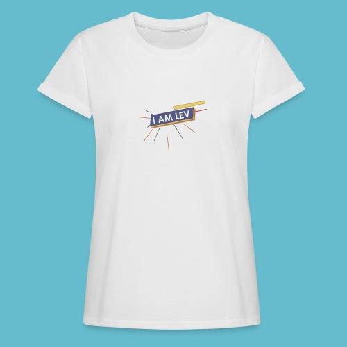 I AM LEV Banner - Vrouwen oversize T-shirt