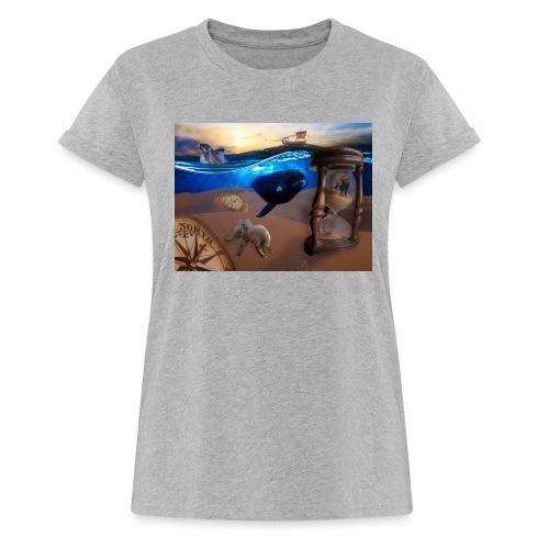 Wodne Przemyślenia - Koszulka damska oversize