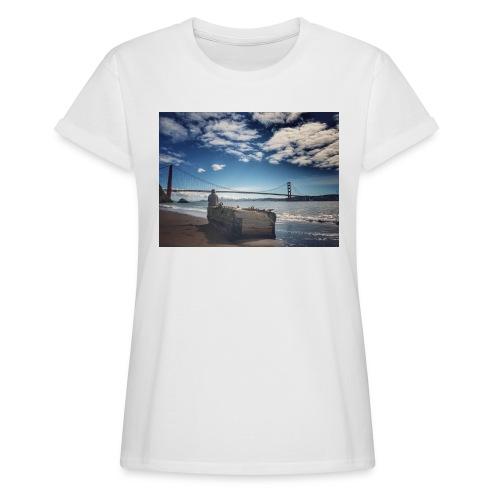 poncio - Camiseta holgada de mujer