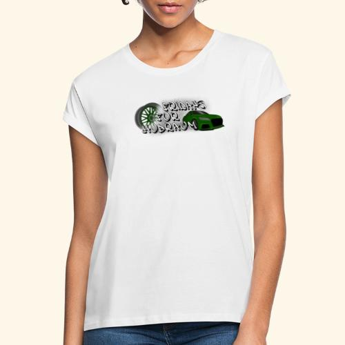 Fridays for Hubraum (Felge + Auto) - Frauen Oversize T-Shirt