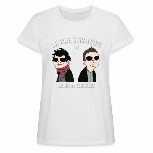 lafinestratégie - T-shirt oversize Femme