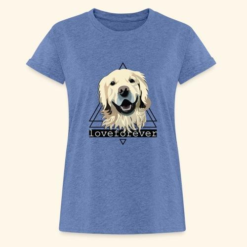 RETRIEVER LOVE FOREVER - Camiseta holgada de mujer