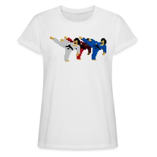 8 bit trip ninjas 2 - Women's Oversize T-Shirt