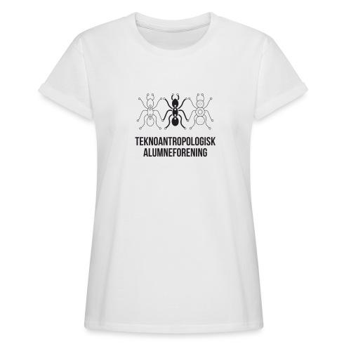 Teknoantropologisk Støtte T-shirt alm - Dame oversize T-shirt